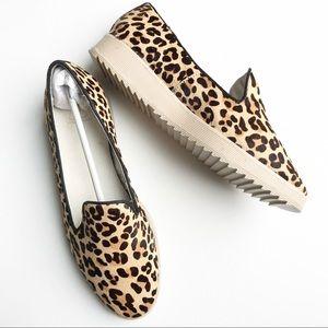 NWB Andrew Stevens Zinnia Leopard Platform Shoe 9